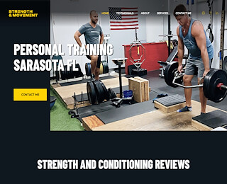 Sarasota personal training
