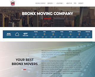 Moving Companies Bronx