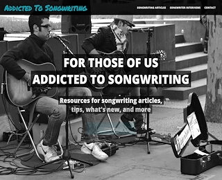 addictedtosongwriting.com