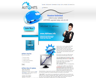website promotion with AutoHits