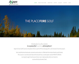 Affordable Golf Prince George