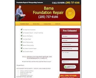 Foundation Repair Huntsville Al