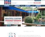 Manual Retractable Awnings Miami