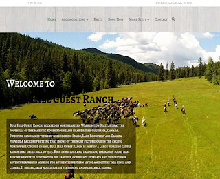 Cattle ranch vacation