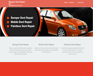 Bumper Dent Repair Orange County