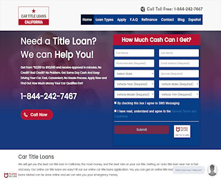 cartitleloanscalifornia.com