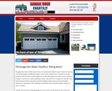 Commercial garage door chantilly