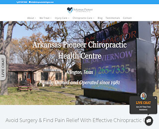 chiropracticofarlington.com