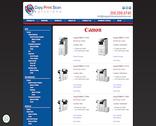 Canon Copier Rental Miami