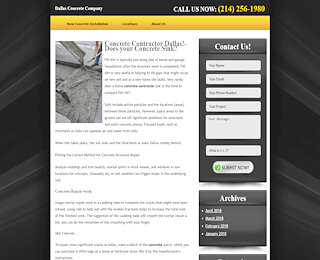 Concrete Repair Dallas