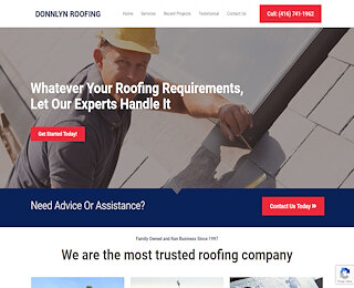 donnlynroofing.com