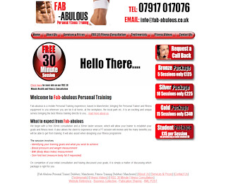 Personal Fitness Training Didsbury