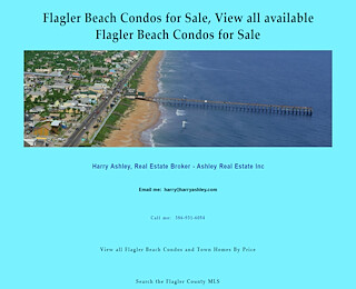 Flagler Beach Condo For Sale