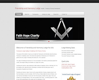 Freemason member in Surrey