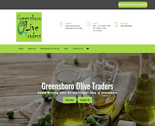 Greensboro olive traders