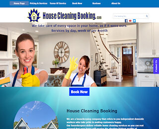 housecleaningbooking.com