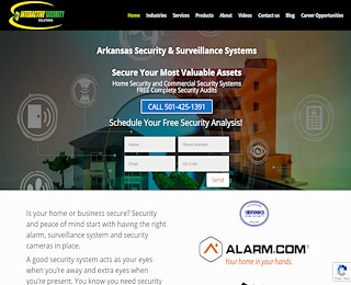 Home Security Systems Little Rock
