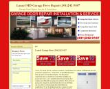 Garage Door Repair Laurel Md