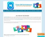 Jual ITunes Gift Card Indonesia