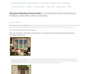 marylandwindowsdoorsroofs.com