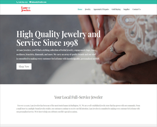 bridal jewelry in Graham NC