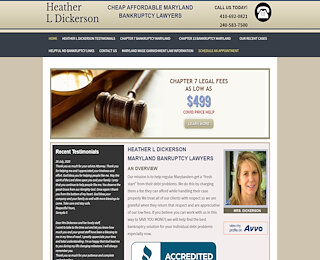 Maryland Bankruptcy Lawyer