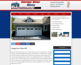 Commercial garage door Olney