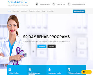 Opiate Addiction Treatment Centers