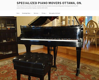 Piano Movers Ottawa ON