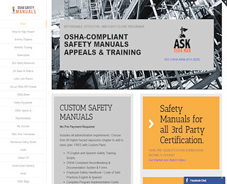 OSHA Safety Manuals