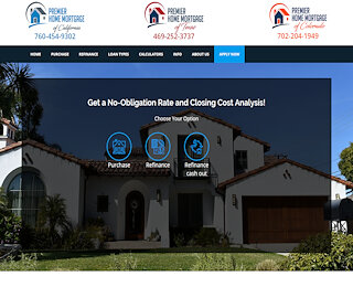 CalSTRS And CalPERS Home Mortgage Loan San Bernadino California