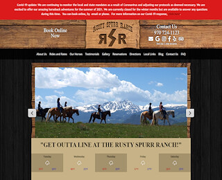 Horseback Riding Vacations Colorado