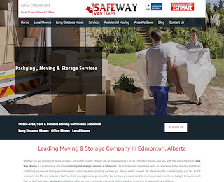 Moving Companies Edmonton