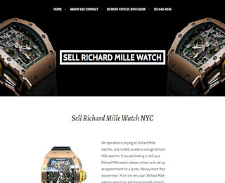 Sell Richard Mille Watch