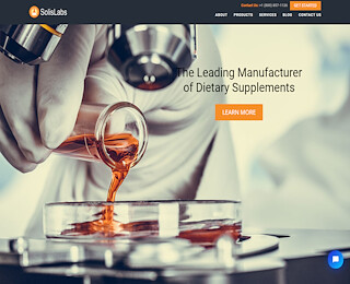 Liquid Contract Manufacturer | SolisLabs