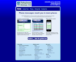 telephonemessagepad.com