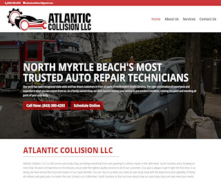 Auto Wreck Repair In North Myrtle Beach