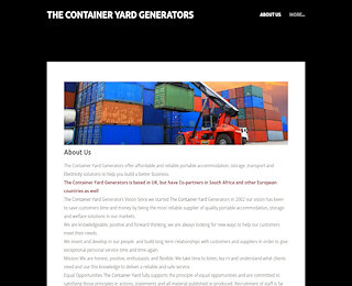 thegensetcontaineryard.co.uk
