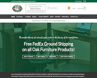 theoakfurnitureshop.com