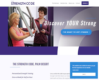 Female Personal Trainer Palm Desert