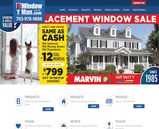 Marvin Fiberglass Replacement Windows