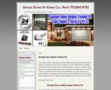 Garage Door Repair Vienna