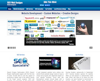 Web Site Design New Smyrna Beach