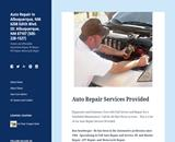 Car Repair Albuquerque