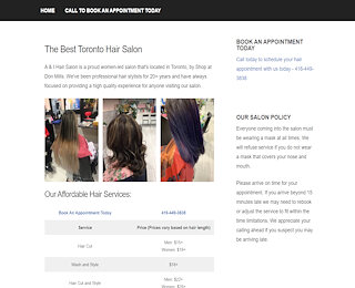 Affordable Hair Salons Toronto