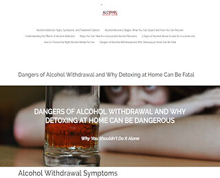Alcohol Treatment Center