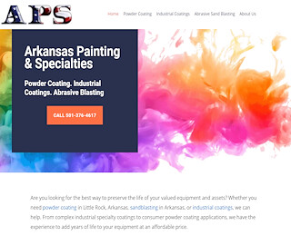 Powder Coating Little Rock Ar