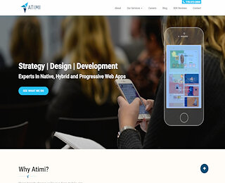 Web app mobile development