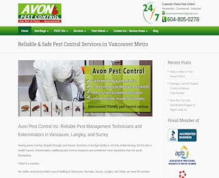 Bed Bug Control Vancouver
