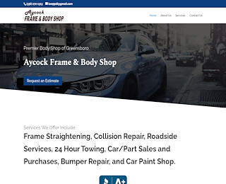 Collision Repair Shop In Greensboro Nc